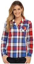 U.S. Polo Assn. Plaid Poplin Single Pocket Woven Shirt