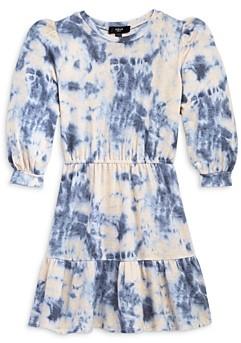 Aqua Girls' Girls' Tiered Tie Dyed Dress, Big Kid - 100% Exclusive