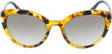 Prada Orange Slim Cat Eye Sunglasses
