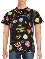 Billionaire Boys Club Vegas Icon Graphic Short Sleeved Tee
