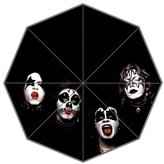 Sunrise ZY Great Design Rock KISS Band Custom Foldable Umbrella Cute