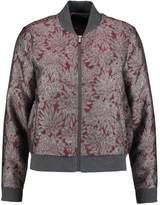 Kiomi BROCADE Summer jacket red & silver