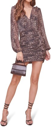 ASTR the Label Norah Long Sleeve Minidress