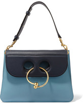 J.W.Anderson Pierce Medium Leather Shoulder Bag - Blue