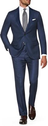 Suitsupply Sienna Regular Fit Bird's Eye Wool Suit