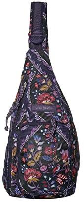 Vera Bradley Lighten Up Mini Sling Backpack (Foxwood Meadow) Backpack Bags