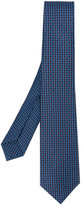 Bulgari embroidered tie - men - Silk - One Size