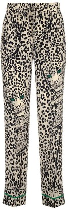 RED Valentino Leopard Print Trousers