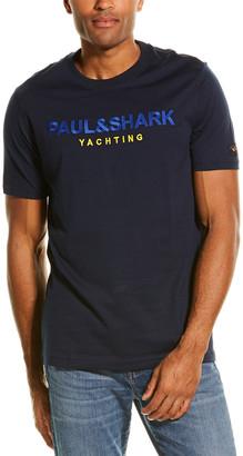 Paul & Shark Embroidered T-Shirt