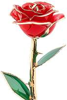 ZJchao Love Forever Long Stem Dipped 24k Gold Foil Trim Rose, Best Gift for Valentine's Day, Mother's Day, Anniversary, Birthday Gift