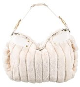 Jimmy Choo Rabbit & Snakeskin Hobo