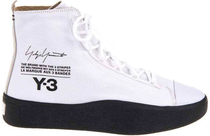 Y-3 Adidas High-cut Sneakers