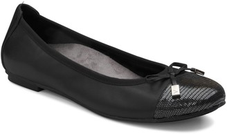 Vionic Leather Ballet Flats - Minna
