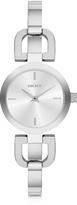 DKNY Reade Silver Tone Stainless Steel Women's Watch