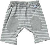 I Play Brights Organic Yoga Pants (Baby) - Grey-3-6 Months