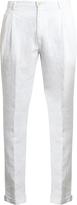 Etro Slim-leg linen trousers