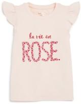 Kate Spade Girls' La Vie En Rose Tee - Little Kid