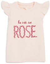 Kate Spade Girls' La Vie En Rose Tee - Sizes 2-6