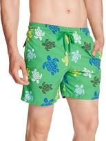 Vilebrequin Moorea Multicolor Turtles Swim Trunks