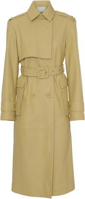 REMAIN Birger Christensen Pirello Leather Trench Coat