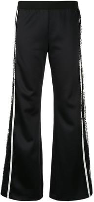 Giambattista Valli Side Stripe Flared Trousers