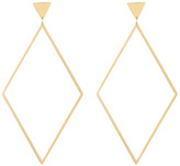 Gorjana Liv Diamond Shaped Drop Stud Earrings