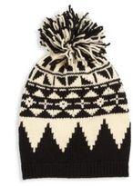 Ralph Lauren Kid's Pom-Pom Knit Hat