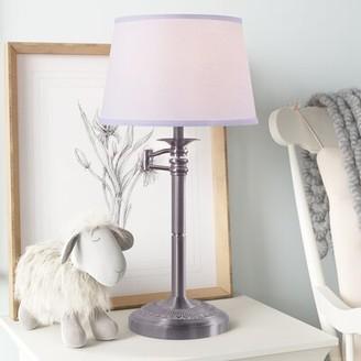 "Three Posts Baby & Kids Bedlington 29"" Table Lamp Finish: Brushed Steel"