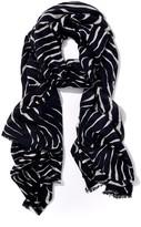 J.Mclaughlin Reed Wool Scarf in Zebra