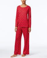 Charter Club Printed Knit Pajama Set, Only at Macy's