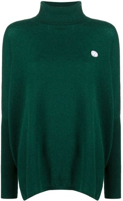 Societe Anonyme Roll-Neck Flared Sweater
