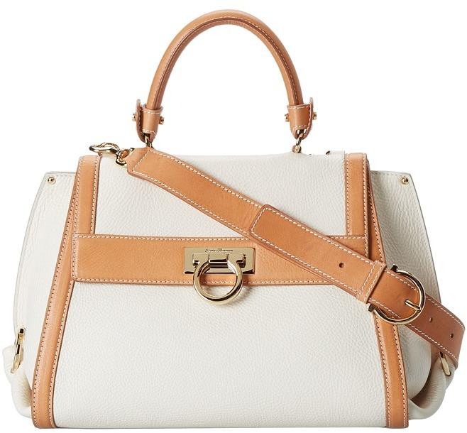 Salvatore Ferragamo 21E528 Sofia Satchel Handbag