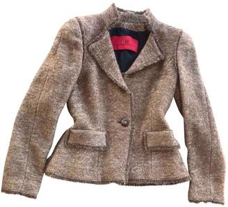 Carolina Herrera Camel Wool Jacket for Women