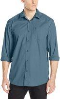 Volcom Men's Everett Solid Long Sleeve Shirt