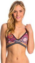 Hurley Swimwear Turkish Floral Sport Bra Bikini Top 8145082