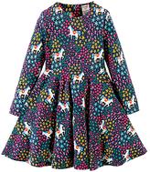 Frugi Organic Baby Sofia Skirt Unicorn Dress, Multi