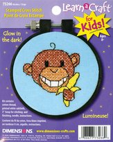 Dimensions Needlecrafts Stamped Cross Stitch, Monkey