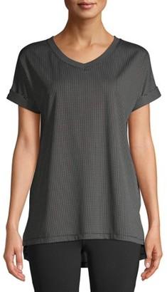 Avia Women's Active V-Neck Mini Dot Tunic