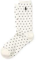 Polo Ralph Lauren Dot Trouser Socks