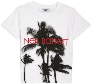 Neil Barrett Palm Trees T-Shirt (4-14 Years)