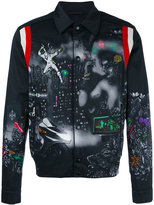 Lanvin printed bomber jacket - men - Cotton/Viscose - 46