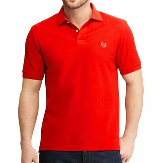 Chaps Men's Big & Tall Classic Fit Cotton Everyday Polo Shirt (Spring/Summer)