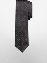 Calvin Klein Steel Pindot Logo Tie