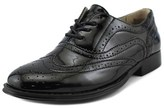 Wanted Babe Women Wingtip Toe Synthetic Black Oxford.