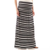 JCPenney A.N.A a.n.a Maternity Wide-Waistband Maxi Skirt - Plus