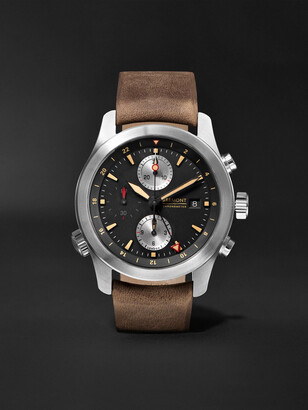 Bremont Alt1-Zt/51 Automatic Chronograph 43mm Stainless Steel And Leather Watch