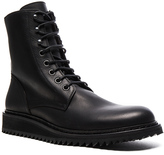 Ann Demeulemeester Lace Up Leather Combat Boots