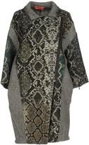 MANILA GRACE DENIM Overcoats - Item 41708024
