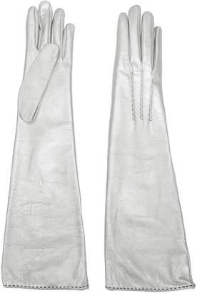 Ermanno Scervino long slip-on gloves