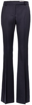 Alexander McQueen High-rise wool bootcut pants